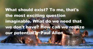 Favorite Paul Allen Quotes
