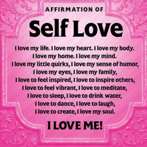 Inspirational Quotes About Self Love
