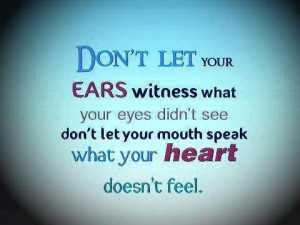 Good Morning Friends & Be careful about your words!!
