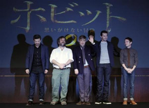 ... their movie ''The Hobbit - An Unexpected Journey'' in Tokyo December 1