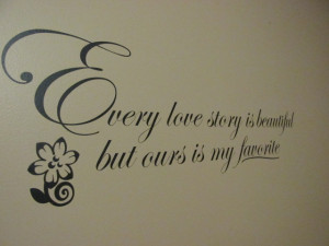 look of their gorgeous wall quotes. While my wall only has the quote ...