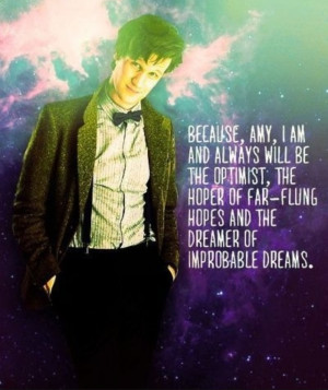 ... all, but Matt is Amy and Rory's Doctor. River's Doctor. My Doctor