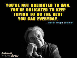 Marian Wright Edelman on Doing Your Best