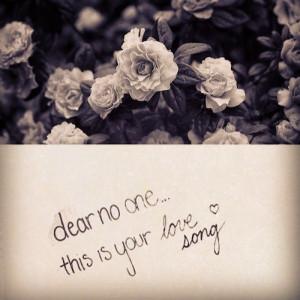 Tori Kelly- Dear no one