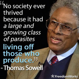 Dr. Sowell is right, as always!