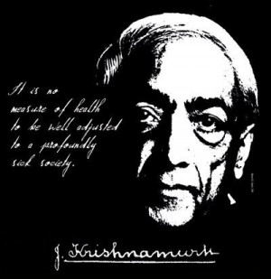 Jiddu Krishnamurti Quote T Shirt Radical Change in Mankind FREE US ...