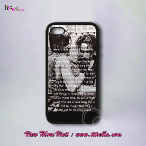 Home Page Phone Case iPod Case Rick and Daryl Quotes Phone Cases