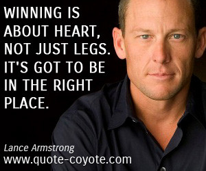 confession' from Lance Armstrong will be that he had the money quote ...
