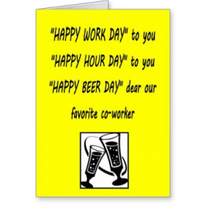 Sayings For Co Worker Leaving