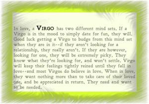 virgo personality quotes
