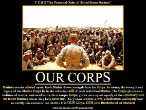shortly afterward the marines were ordered to not wear their khaki ...