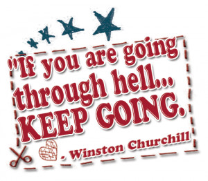 Winston Churchill Bad Day Quote having a bad week
