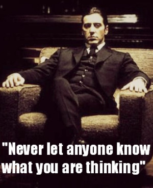 Corleone from The Godfather!!!!! You can't tell me I'm not an Italian ...