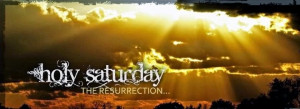 holy saturday images for facebook sharing