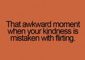 How awkward