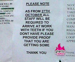 Staff needs a better dental plan