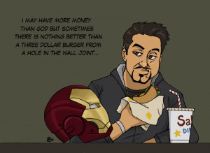 Tony Stark Iron Man Broken