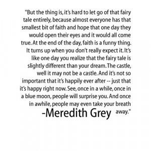 meredith grey quotes | Tumblr