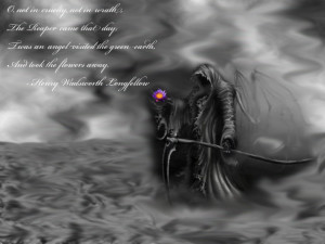 The Reaper Wallpaper 1280x960 The, Reaper, And, The, Flowers, Self ...