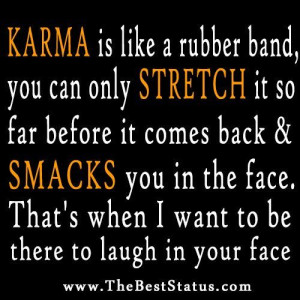 Funny Pics About Karma | Funny Quotes Contact Us DMCA Notice