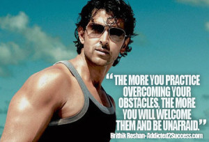 Hrithik Roshan Inspirational Picture Quote