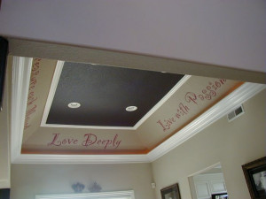 Buena Park Quotes On The Ceiling Mural Photo In