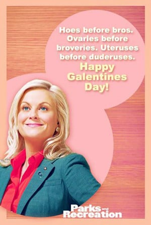Galentines day parks and recreation