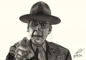 Gunnery Sergeant Hartman Picture