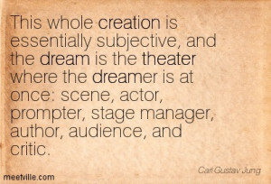 Large Disappointed Audience Carl Jung quote