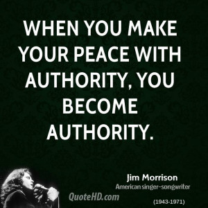 Jim Morrison Peace Quotes
