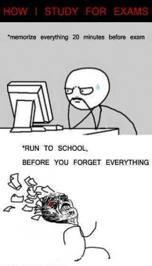 how i study for exams how i study for exams