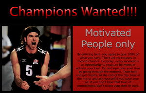 Motivational Quotes For Athletes Volleyball Director of athletes in