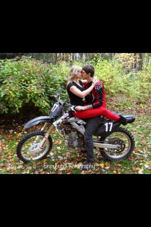 Motocross Relationship Tumblr Dirt bike engagement love.