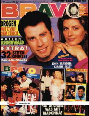 Bravo - 17/91, 18.04.1991 - John Travolta / Kirstie Alley -