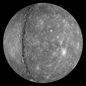 Mercury Planet Map
