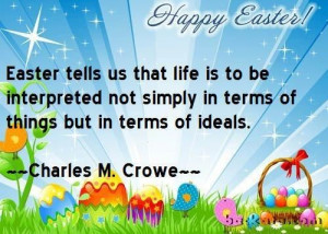 Easter quotes, sayings, meaningful, charles m crowe