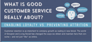 Infographic — What is Good Customer Service Really About?