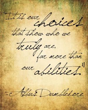 Albus Dumbledore Quotes & Sayings