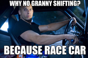 Why double clutching and not granny shifting?