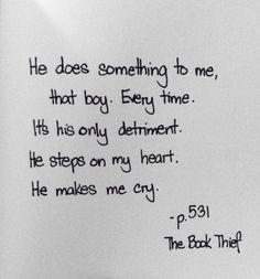 Quote from The Book Thief More