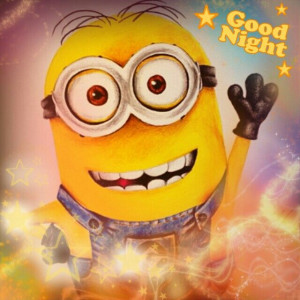 MinionMinions Humor, Goodnight Minions, Funny Pics, Goodnight Quotes ...