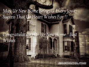 new home or house congratulations