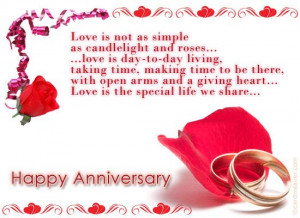 wedding anniversary messages | Wishing You A Happy Wedding Anniversary ...