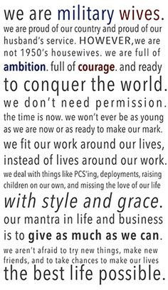 ... Work and Accepting what Cannot be Changed   Successful Military Wife