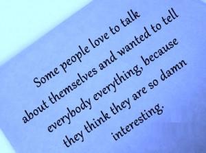 Tell Everybody Everything
