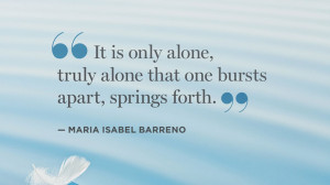 Quotes Solitude Maria...
