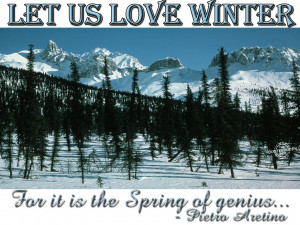 Winter Love Quotes Tumblr Picture