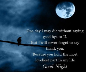 Sexy goodnight message – good night romantic images