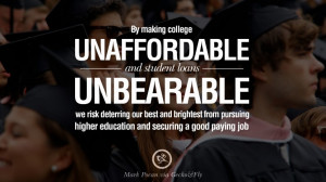 ... job. - Mark Pocan Quotes on College Student Loan and Debt Forgiveness