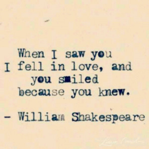 Though attributed to him, this quote is not actually by Shakespeare ...